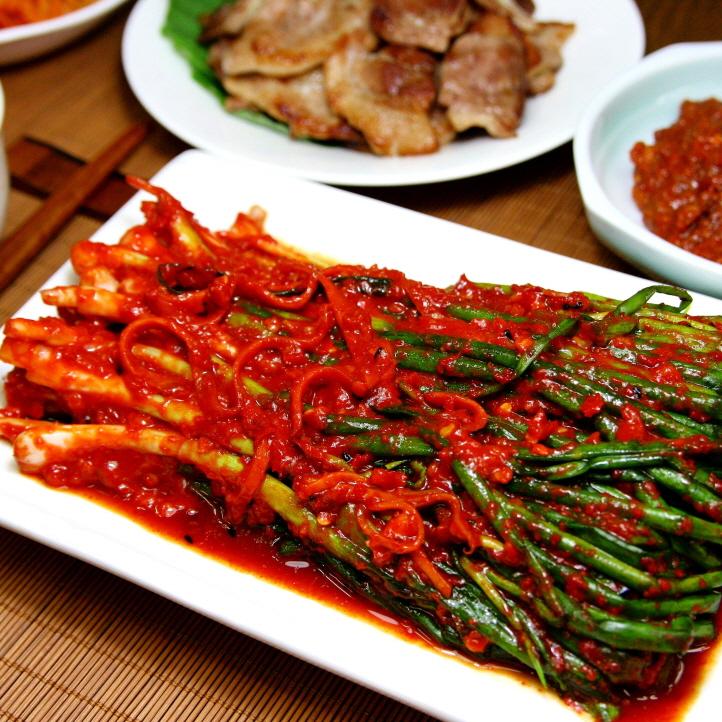 쪽파김치 (500g)
